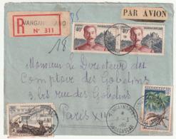 MADAGASCAR - LETTRE Recommandée : Vangaindrano  Le 03/03/1960 - Madagascar (1960-...)