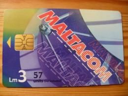 Phonecard Malta - Malte