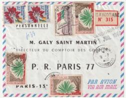 MADAGASCAR - LETTRE Recommandée : Vangaindrano  Le 08/07/1960 - Madagascar (1960-...)