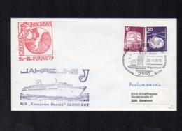 GERMANY. SHIPS. COVER (1SA012) - Schiffe