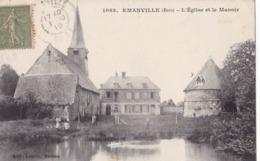 EMANVILLE - L'Eglise Et Le Manoir - Otros Municipios