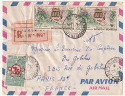 MADAGASCAR - LETTRE Recommandée : Analakely  Le 29/06/1960 - Madagascar (1960-...)