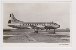 Vintage Pc KLM K.L.M. Royal Dutch Airlines Convair 240 @ Schiphol Airport Version A - 1919-1938: Fra Le Due Guerre
