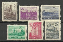 Estland Estonie Estonia 1941 German Occupation Reconstruction Wiederaufbau * - Estonie