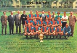 4702  AK--   CHAMPION  SUISSE   FC  BASEL 1970 - BS Bâle-Ville