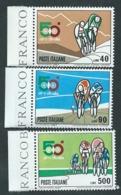 Italia, Italy, Italie, Italien 1967; 50° Giro Ciclistico D' Italia, Serie Completa Di Bordo. Nuovi. - Cycling