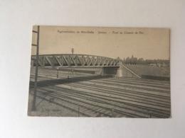 Meirelbeke  Merelbeke   Station Pont Du Chemin De Fer   Edit Germis - De Graeve N° 18025 - Merelbeke