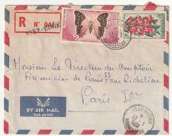 MADAGASCAR - LETTRE Recommandée : NOSY-VARIKA Le 13/03/1962 - Madagascar (1960-...)
