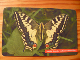 Phonecard Slovakia - Butterfly - Slowakije