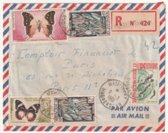 MADAGASCAR - LETTRE Recommandée : MAMPIKONY Le 09/03/1961 - Madagascar (1960-...)