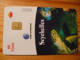 Phonecard Seychelles - Sea Life - Seychelles