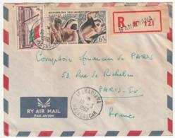 MADAGASCAR - LETTRE Recommandée : IFANADIANA Le 10/03/1962 - Madagascar (1960-...)