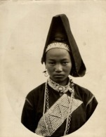FEMME PA Y OU TOU TONKIN CLICHÉ TETART INDOCHINE INDO CHINA ASIA 23*17CM Fonds Victor FORBIN 1864-1947 - Photos