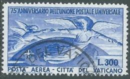 1949 VATICANO USATO POSTA AEREA UPU 300 LIRE - RB22-9 - Luchtpost