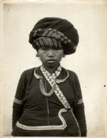 FEMME LU LES LOUS TONKIN  CLICHÉ TETART INDOCHINE INDO CHINA ASIA 23*17CM Fonds Victor FORBIN 1864-1947 - Photos