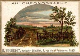 CHROMO  AU CHRONOGRAPHE E. HOUDELOT NANCY  LA CAMPAGNE - Cromo