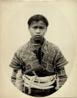 FEMME LOLO MEO  MEOS YUNNAM CLICHÉ TETART INDOCHINE INDO CHINA ASIA 23*17CM Fonds Victor FORBIN 1864-1947 - Fotos
