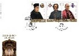 Portugal & FDC Braga Archbishops, II Group 2019 (1092) - Famous People