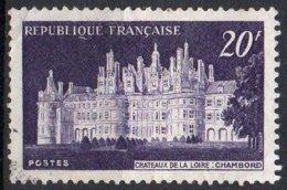 FRANCE N° 924 O Y&T 1952 Chateau De Chambord - France