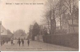 GHELUWE INGAAN VAN 'T DORP VAN YPER KOMENDE 1916 MILITAIR 837 /d3 - Wervik