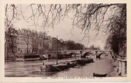 CP 75 Paris Seine Au Pont Marie 952 LL - The River Seine And Its Banks