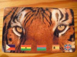 Prepaid Phonecard - Tiger - Télécartes