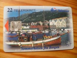 Phonecard Norway - Ship - Norwegen
