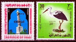 IRAQ    1975 OFFICIALS  MNH     BIRD - Irak