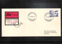 Denmark 1961 SAS FDC - Danimarca
