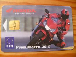 Phonecard Finland - Motorbike - Finnland