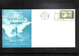 USA 1971 USS Shark Nteresting Cover - Vereinigte Staaten