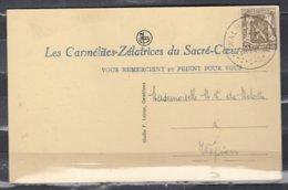 Postkaart Van Walhain-St Paul Naar Wepion - 1935-1949 Petit Sceau De L'Etat