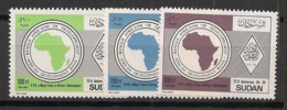 Soudan - 1989 - N°Yv. 371 à 373 - BAD - Neuf Luxe ** / MNH / Postfrisch - Sudan (1954-...)