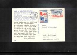 Canada 1967 EXPO Montreal Nteresting Postcard - 1967 – Montreal (Kanada)