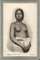 CPA - SENEGAL - Mots Clés: Ethnographie, érotisme, Fille, Femme, Seins, Nue, Nude -  Jeune Fille De Gorée - En 1900 - Senegal