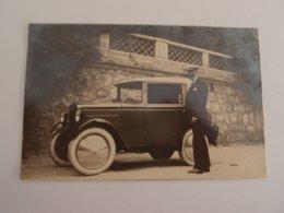 CPA Photo Voiture Ancienne à Identifier - Voitures De Tourisme