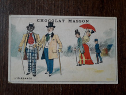 L25/3 Chromo . Chocolat Masson. L'élégance - Other
