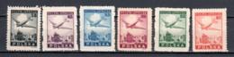 Poland 1946 Mi 428-433 MNH AIRPLANES - Luftpost