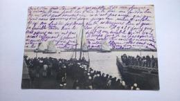 Carte Postale ( AA6 ) Ancienne De Port En Bessin , LE SEBASTIEN  Entre Au Port - Port-en-Bessin-Huppain