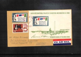 USA 1966 Interesting Airmail Cover - Vereinigte Staaten