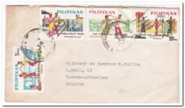 Filippijnen 197?, Letter From Catholic Mission Bambang ( Nueva Vizcaya ) To Belgium - Filipinas
