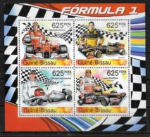 GUINEE BISSAU  N° 3889/92 * *  ( Cote 14e )  Automobile  Alonso Petrov Schumacher Hamilton - Automobilismo