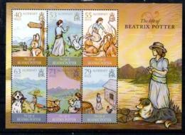 Alderney Beatrix Potter M/S 2015 MNH - Alderney