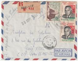 MADAGASCAR - LETTRE Recommandée : RANGHIRA Le 24/09/1960 - Madagascar (1960-...)
