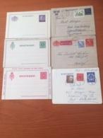 +++ Sammlung 6 Lettercards Sweden +++ - Sammlungen (ohne Album)