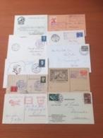 +++ Sammlung 10 Briefkaarten Met Spciaalstempels Nederland +++ - Colecciones (sin álbumes)