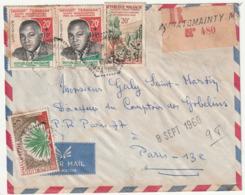 MADAGASCAR - LETTRE Recommandée : AMBATOMAINTY Le 02/09/1960 - Madagascar (1960-...)