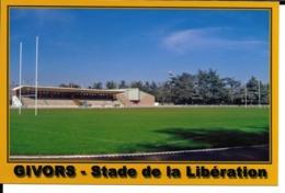 STADE DE LA LIBERATION RUGBY FOOTBALL  GIVORS RHONE  ESTADIO - STADIUM STADIO - Rugby