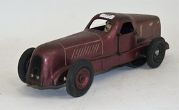 CIJ Renault Nerva Sport, Réf 5/12 De 1935, Couleur Bronze, Chauffeur D'origine, Mécanisme Fonctionnant, 35cm, état D'usa - Other Collections