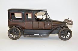 CARETTE: Limousine Mécanique En Tôle Lithographiée Brune. 1912. - Other Collections